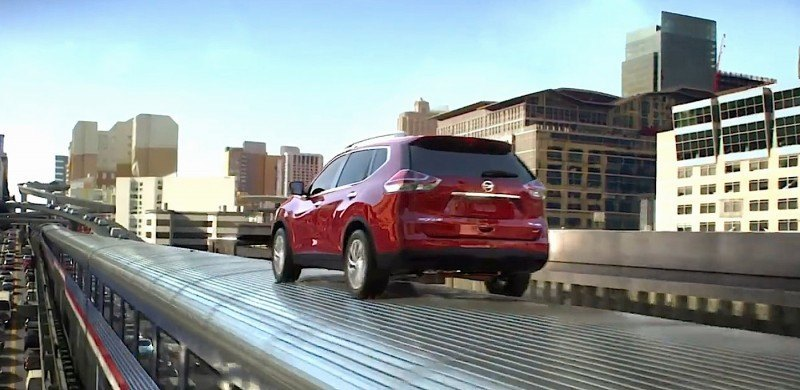 """Nissan Launches """"Full-Throttle Action"""" TV Commercial"""