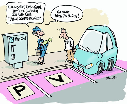 pv stationnement