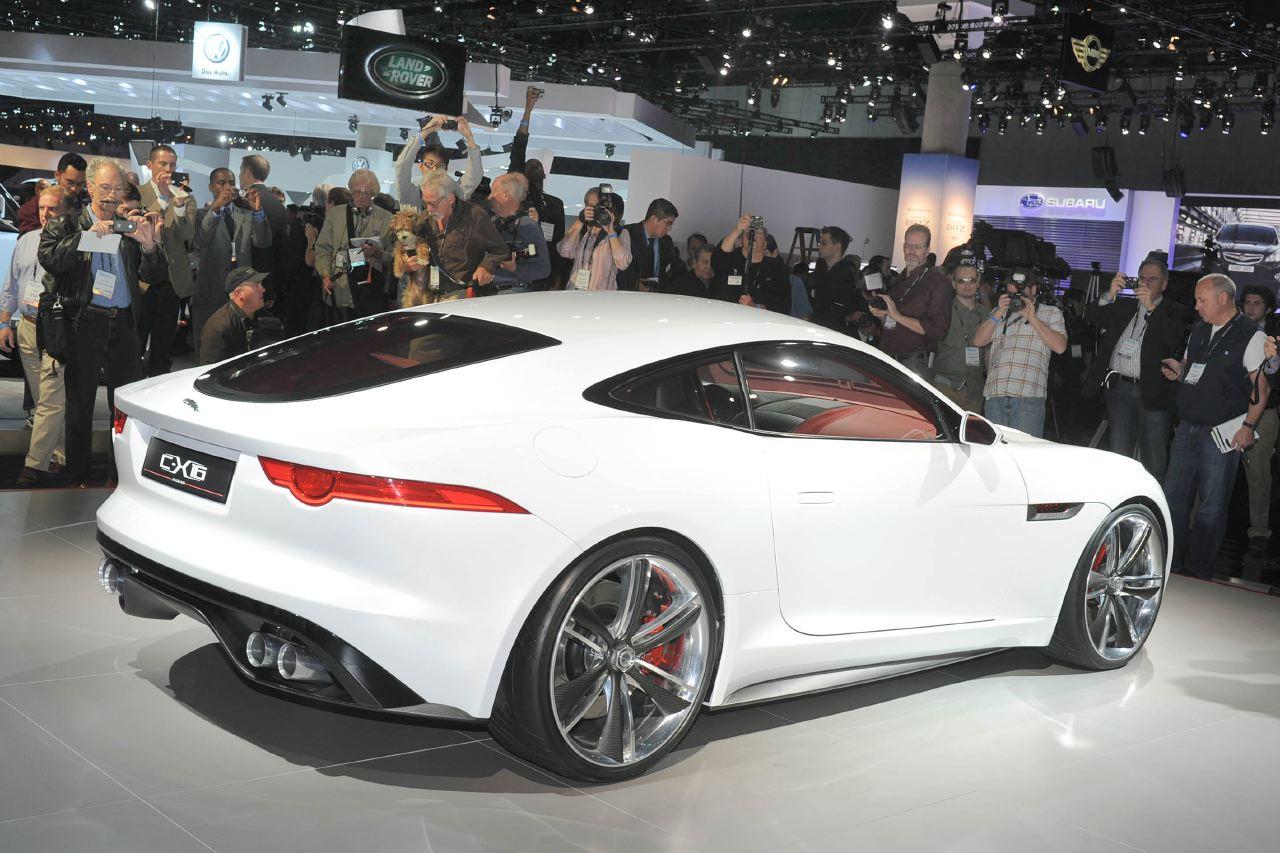 洛衫磯車展花絮(六):Jaguar C-X16 Concept 跑車發展路向 : 香港第一車網 Car1.hk