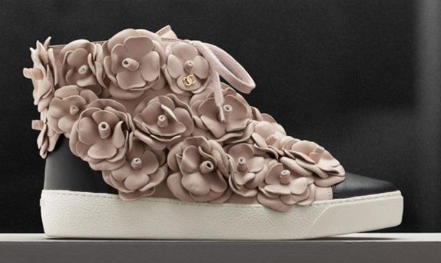 Chanel Camellia Sneaker