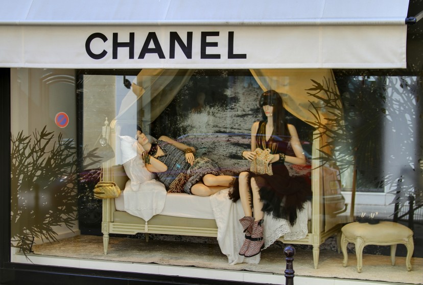 Chanel, Rue Cambon, Window Display