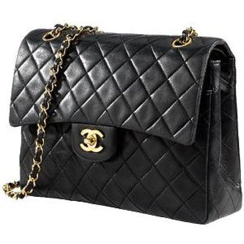 Karl Lagerfeld's version of Chanel's 2.55 bag