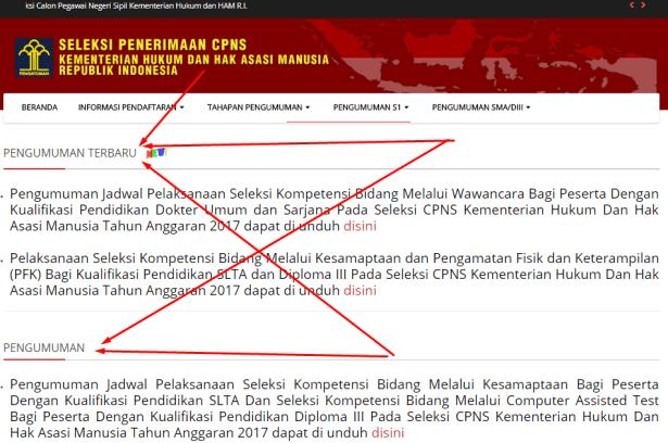 Contoh Surat Pernyataan Ikut Tes Kesamaptaan CPNS Kemenkumham