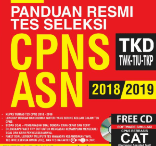 Soal Cpns 2018 2019 Kunci Jawaban Pdf Dan Cat Scan Lengkap