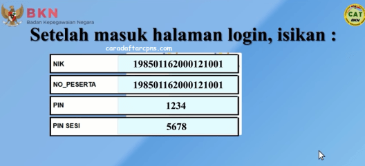 Cara Menggunakan Aplikasi Computer Assited Test (CAT) BKN