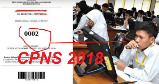 Pengumuman Jadwal Pendaftaran CPNS di menpan.go.id, Daftar di sscn.bkn.go.id