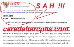 Mekanisme Seleksi CPNS Terintegrasi, Jadi Special Issue Rakornas