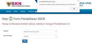 Petunjuk Lengkap Pendaftaran CPNS 2018 di sscn.bkn.go.id
