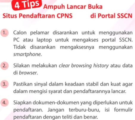 Tips Jitu Lulus Seleksi Administrasi CPNS