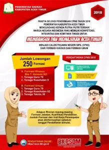 Jadwal dan Lokasi Tes SKD CPNS Kabupaten Aceh Timur 2018