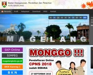 Pengumuman Hasil Tes SKD CPNS Kabupaten Magelang 2018