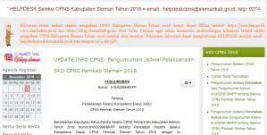 Hasil Akhir Seleksi CPNS Kemenkumham 2018
