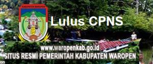 Pengumuman Hasil Tes SKD CPNS 2018 Kabupaten Waropen