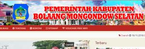 Pengumuman Hasil Tes CAT SKD CPNS Kabupaten Bolaang Mongondow Selatan 2018