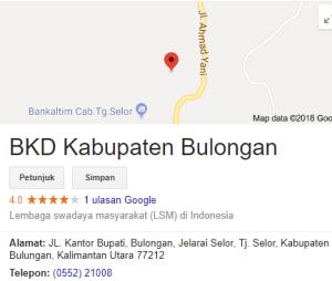 Pengumuman Hasil Tes CAT SKD CPNS Kabupaten Bulungan 2018