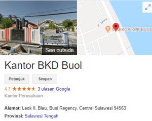 Pengumuman Hasil Tes CAT SKD CPNS Kabupaten Buol 2018