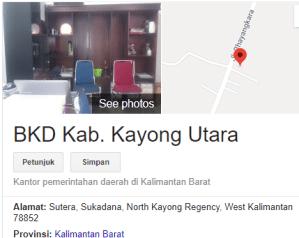 Pengumuman Hasil Tes SKD CPNS Kabupaten Kayong Utara 2018