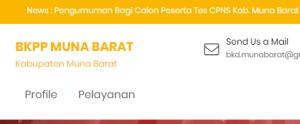 Pengumuman Hasil Tes CAT SKD CPNS Kabupaten Muna Barat 2018