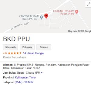 Pengumuman Hasil Tes SKD CPNS Kabupaten Penajam Paser Utara 2018