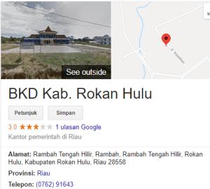 Pengumuman Hasil Tes SKD CPNS Kabupaten Rokan Hulu 2018