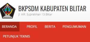 Pengumuman Hasil Tes SKD CPNS Kabupaten Blitar 2018