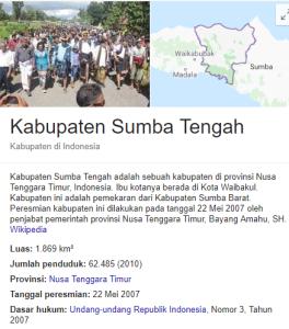 Pengumuman Hasil Tes SKD CPNS Kabupaten Sumba Tengah 2018