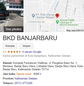 Pengumuman Hasil Tes SKD CPNS Kota Banjar Baru 2018