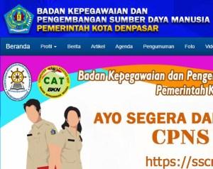 Pengumuman Hasil Tes SKD CPNS Kota Denpasar 2018