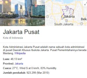 CPNS Kota Jakarta Pusat 2019