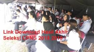 32 Link Download Pengumuman Hasil Akhir Seleksi CPNS 2018 2019