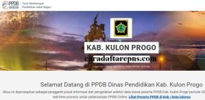 Pendaftaran PPDB Online SMA Kabupaten Kulon Progo 2019 2020