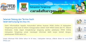 PPDB SMP Kabupaten Tangerang