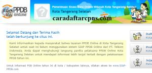 PPDB SMP Kota Tangerang Selatan