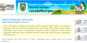 PPDB SMP Kabupaten Balangan