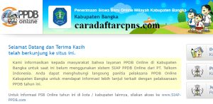 Jadwal PPDB SMA SMK Negeri Kab Bangka 2020 2021