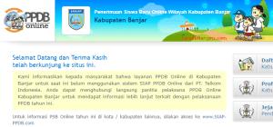 PPDB SMP Kabupaten Banjar