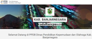 Pengumuman Hasil PPDB SMA SMK Negeri Kabupaten Banjarnegara 2020 2021