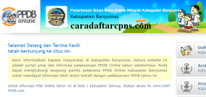 Pengumuman Hasil PPDB SMA SMK Negeri Kabupaten Banyumas 2020 2021