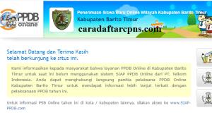 Jadwal PPDB SMA SMK Negeri Kab Barito 2020 2021