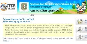 Jadwal PPDB SMA SMK Negeri Kab Bengkayang 2020 2021
