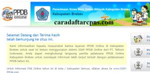 PPDB SMP Kabupaten Brebes