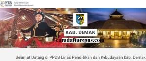 Pendaftaran PPDB Online SMA Kabupaten Demak 2019 2020