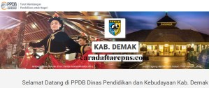 Pengumuman Hasil PPDB SMA SMK Negeri Kabupaten Demak 2020 2021