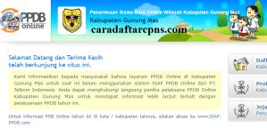 Jadwal PPDB SMA SMK Negeri Kab Gunung Mas 2020 2021