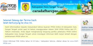 Jadwal PPDB SMA SMK Negeri Kab Hulu Sungai 2020 2021