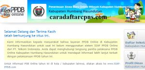 PPDB SMP Kabupaten Humbang Hasundutan