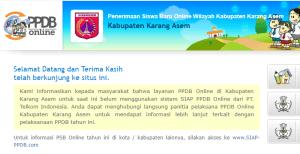Jadwal PPDB SMA SMK Negeri Kab Karangasem 2020 2021