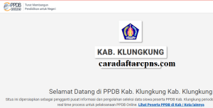 PPDB SMP Kabupaten Klungkung