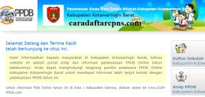PPDB SMP Kabupaten Kotawaringin Barat