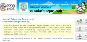 PPDB SMP Kabupaten Lamandau